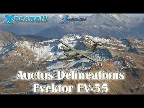 Auctus Delineations Evektor EV-55 for X-plane 11