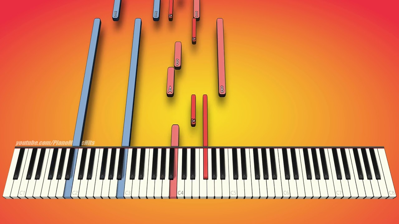 Beethoven's - 14th Piano Sonata Moonlight 1st Movement (piano cover & tutorial)