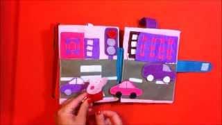 Мягкая книжка для детей. Правила безопасности. Пеппа Пиг. Peppa Pig. Интерактивная книга.