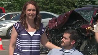 Minnesota State Trooper survives head-on crash