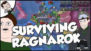 Hearts of Iron 4 HOI4 Trying To Survive Ragnarok as Germany