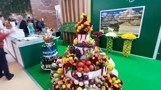 Смотреть видео 1. Продукция со всей России. Выставка ярмарка. ВДНХ онлайн