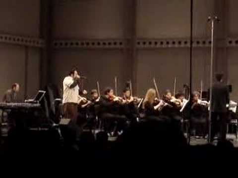 Adam Matta with the Cornell Chamber Orchestra