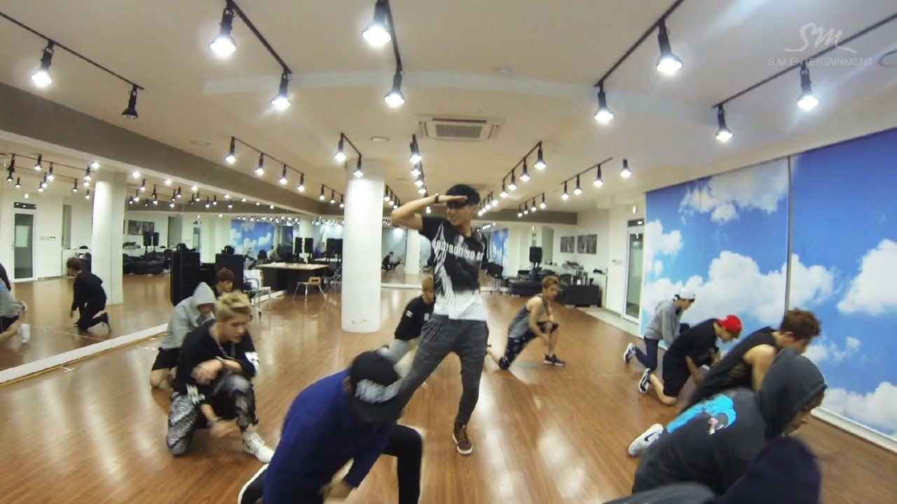 EXO 엑소 '으르렁 (Growl)' Dance Practice (Chinese Ver.)