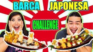 BARCA JAPONESA CHALLENGE | Maru e Bomba