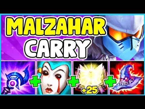HOW TO PLAY MALZAHAR MID & SOLO CARRY In Season 10   Malzahar Guide S10 - League Of Legends