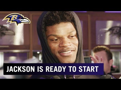 Lamar Jackson Ready to Start if Called Upon | Ravens Interview (Week 11)