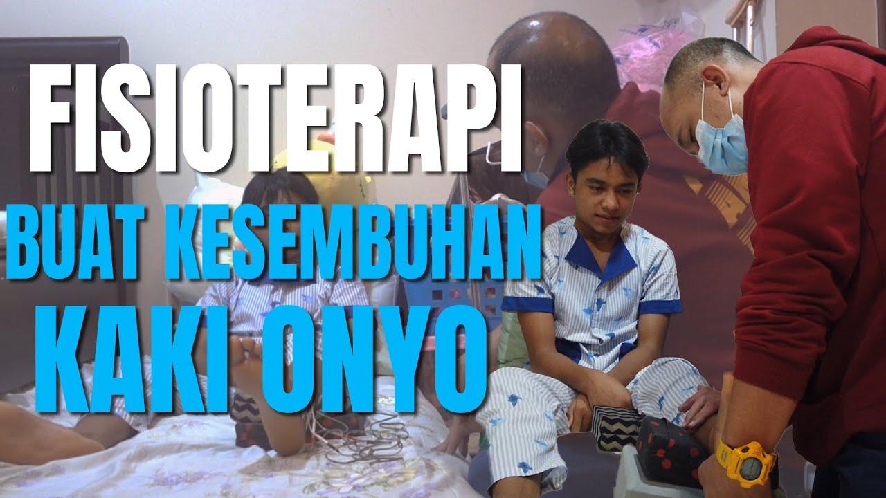 The Onsu Family - Fisioterapi buat kesembuhan kaki Onyo