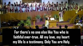 """""""Only You Are Holy"""""""