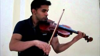 Pathiramazha Etho Violin.wmv