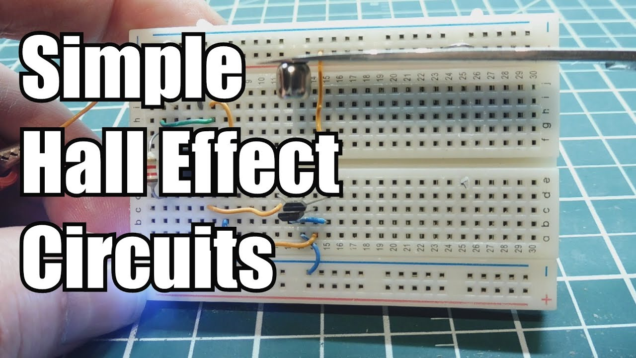Simple Hall Effect Circuits You Can Build - YouTube