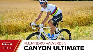 Alejandro Valverde's Custom Canyon Ultimate CF SLX | Tour de France 2019 Pro Bike