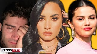 Max Ehrich OBSESSES Over Selena Gomez Post Demi Lovato Split!