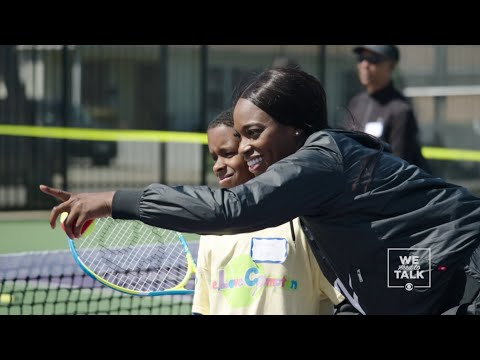 We Need To Talk: Sloane Stephens Talks Tennis Accessibility and Opportunity