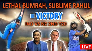 Lethal Bumrah, Sublime Rahul = Victory | Ind Vs NZ 2nd T20