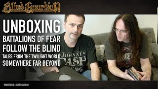 UNBOXING: Battalions Of Fear, Follow The Blind, Tales From The Twilight World, Somewhere Far Beyond