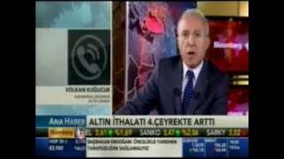 ALB Forex Altın Uzm. Volkan Kuğucuk, altın piyasalarını yorumluyor. Bloomberg HT