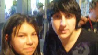 We fell for Mitchel Musso at the Toronto Zoo ... Litterally !