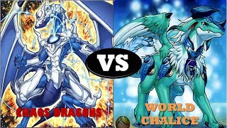 YGOPRO 2 Link Duels - Chaos Dragon vs World Chalice
