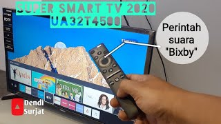 Smart tv samsung 32 inch 2020 || UA32T4500 || Unboxing and review