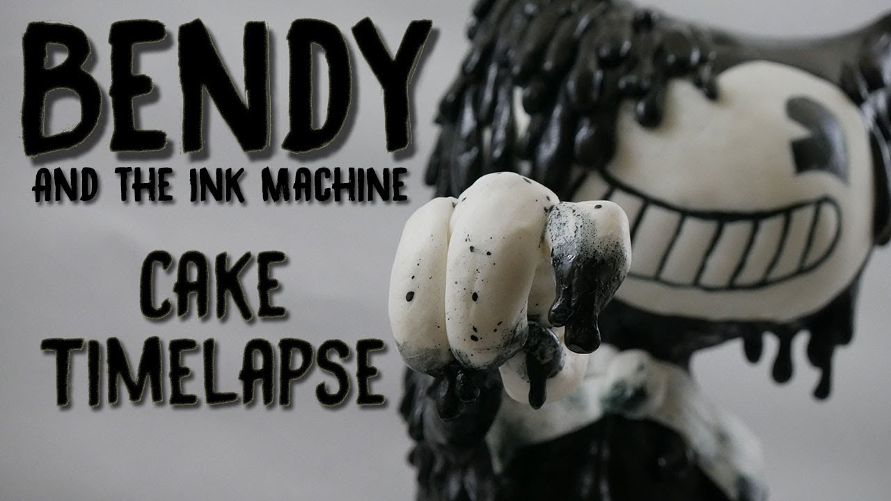 Bendy and the Ink Machine Cake Timelapse! - YouTube