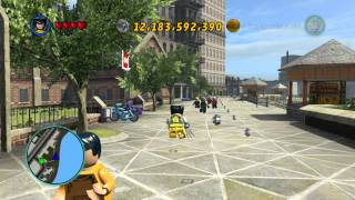 LEGO Marvel gold brick at empire state university