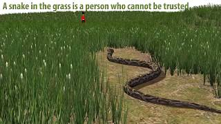 Snake in the Grass | British English Idiom | Learn English