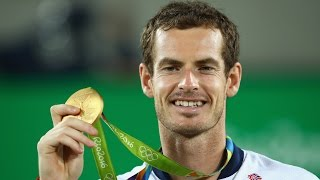 Tennis gold medalist corrects sexist reporting