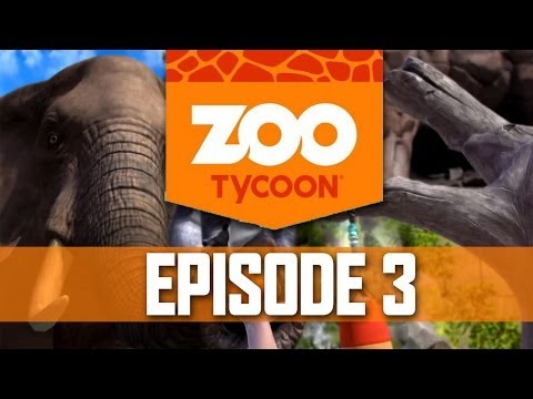 Zoo Tycoon Walkthrough Part 3 - Let's Play Playthrough (Xbox One Zoo Tycoon 2013)