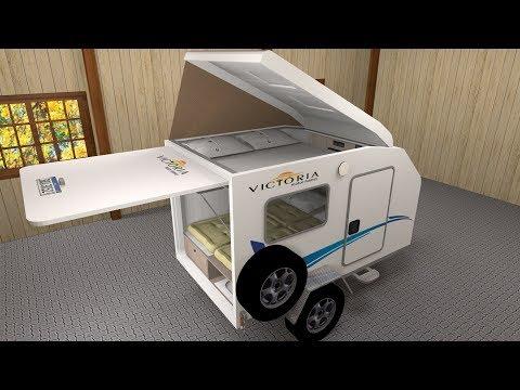 Construção Do Mini Trailer Thaura Pela Victoria Motorhome