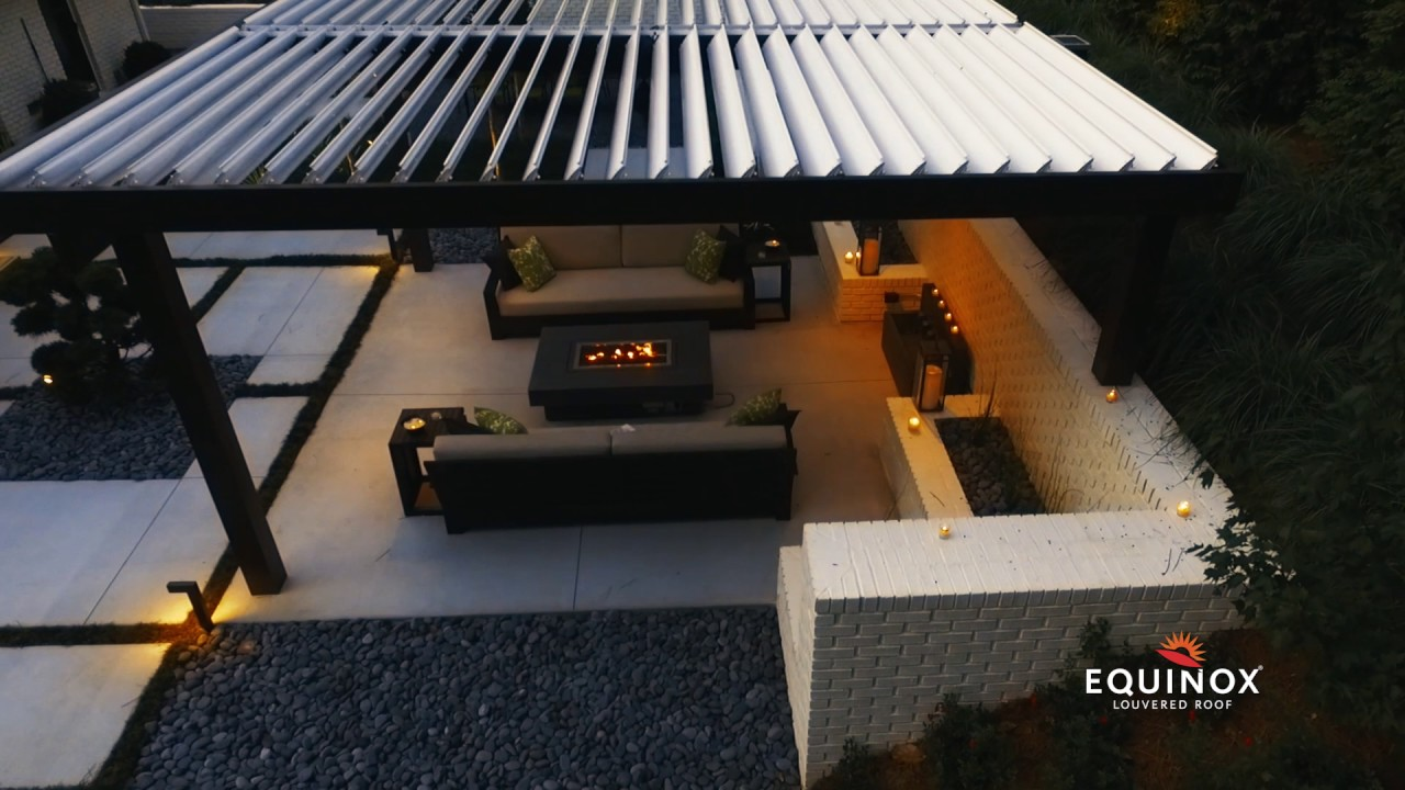 equinox louvered roof 30 overview