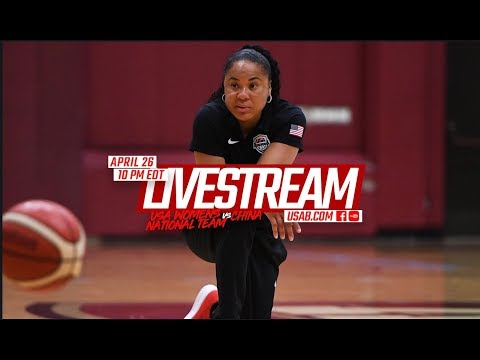 EXHIBITION GAME // USA Basketball 2018 Women's National Team