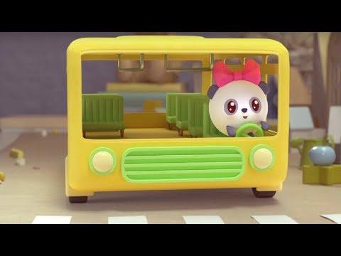 Малышарики - песенка - 'Колеса у автобуса крутятся' 🚌- для самых маленьких