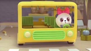 """Малышарики - песенка - """"Колеса у автобуса крутятся"""" 🚌- для самых маленьких"""