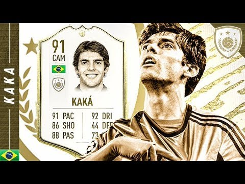 WORTH THE UNLOCK?! 91 ICON SWAPS PRIME KAKA REVIEW!! FIFA 20 Ultimate Team