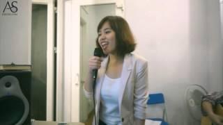Tôi đọc báo công cộng (Nguyễn Duy Hùng), Thanh Thanh ft. Duy Phong rehearsal at Acoustica Studio