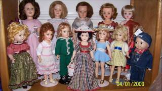 My Vintage Doll Collection