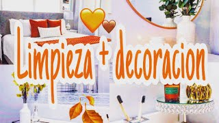 DECORACION OTOÑO 2020 🧡 MASTER ROOM  ll CLEAN AND DECORATE WITH ME || FALL 2020 🤎