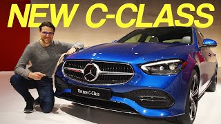 new Mercedes C-Class REVIEW - all you need to know about the small S-Class!