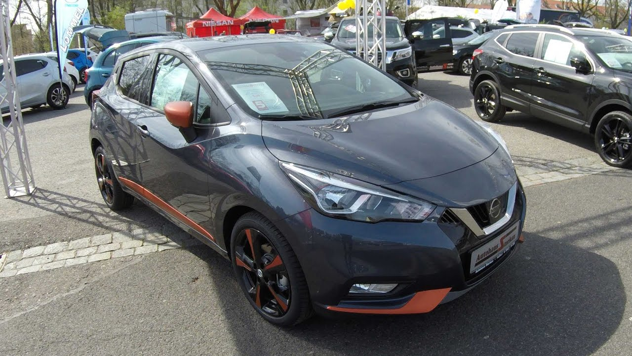 nissan micra new model 2017 compilation 2  orange   gunmetal grey