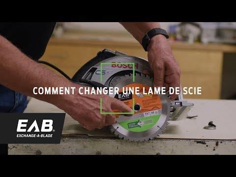 Eab Comment Changer Une Lame De Scie By Eab Exchange A Blade