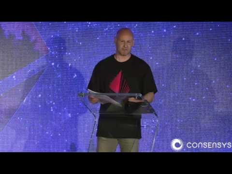 ConsenSys' Joseph Lubin Gives Ethereum Keynote at Ethereal Summit