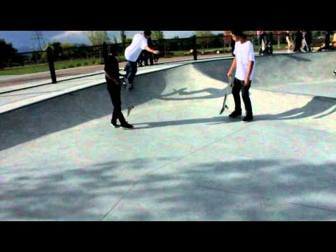 David Sparrow skateboarding