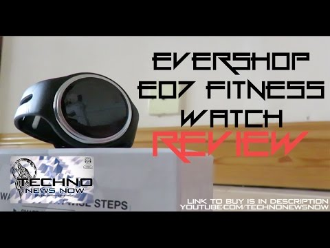 Evershop E07 Fitness Band/SmartWatch For Android and iPhone Review | Best Fitness Watch