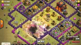 [ClashOfClans] Th8 Govalo 3 Star War Attack