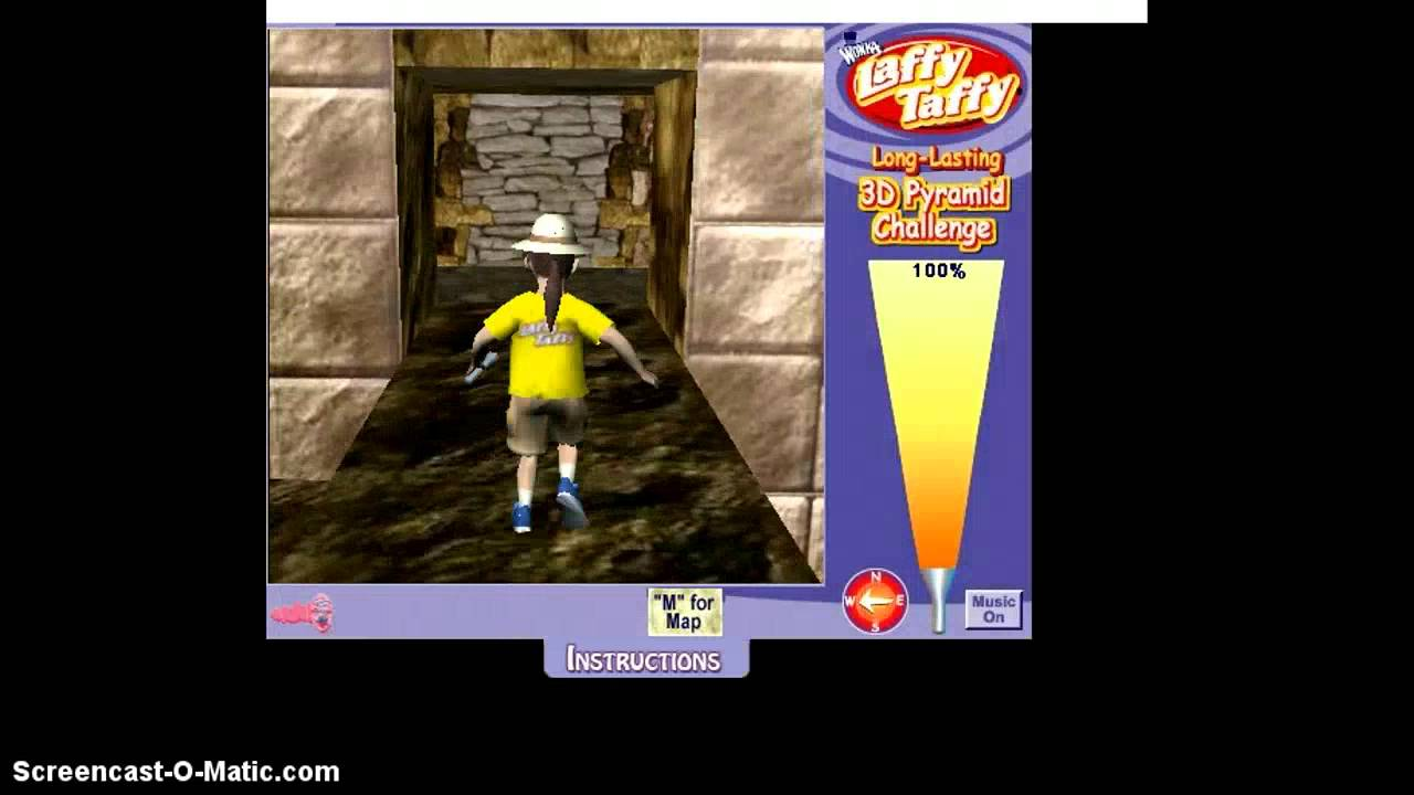 Laffy Taffy 3d Pyramid Game D Youtube