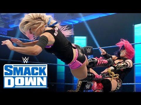 Alexa Bliss Vs. Asuka: SmackDown, March 27, 2020