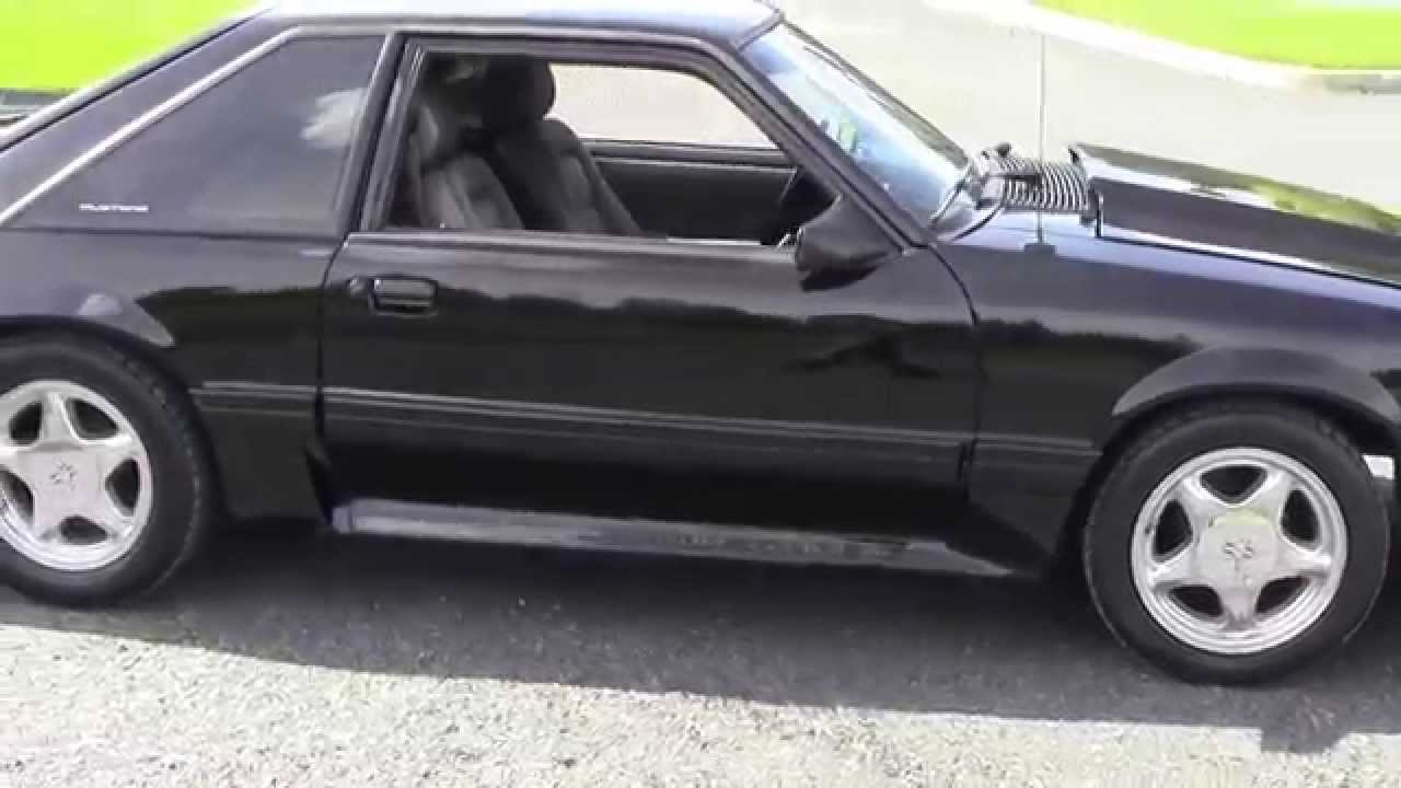 fox body mustang gt 1990 5 0 youtube. Black Bedroom Furniture Sets. Home Design Ideas
