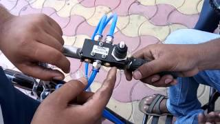 Mechanical engineering project- compressed air car for handicapped people.