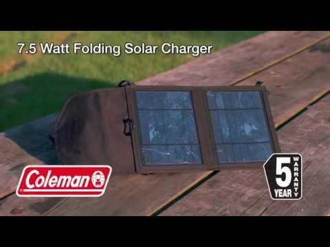 Coleman 7.5 Watt Folding Solar Charger From Canadian Tire